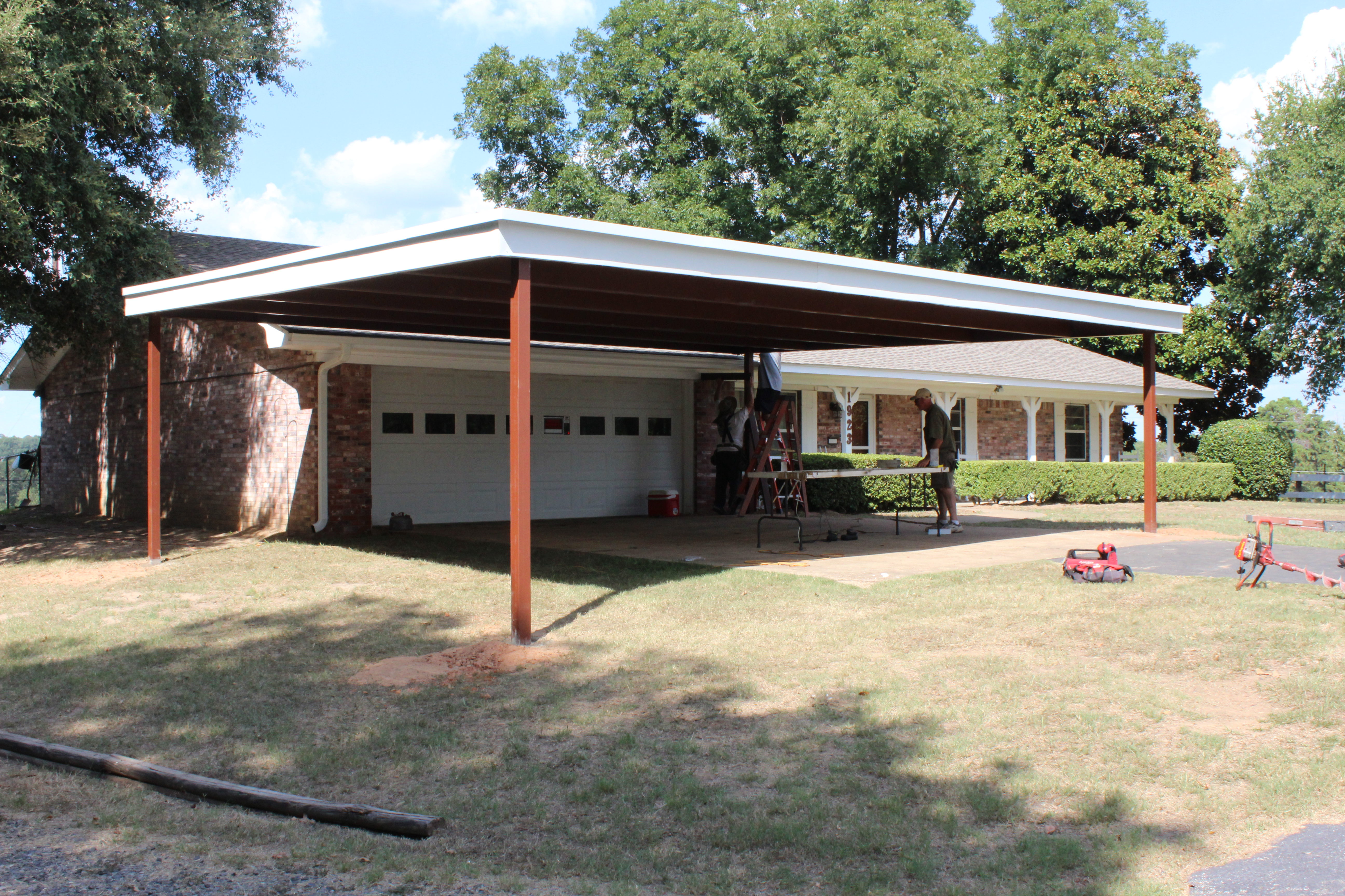 R Panel Patio Covers Carport In Longview Tyler Tx