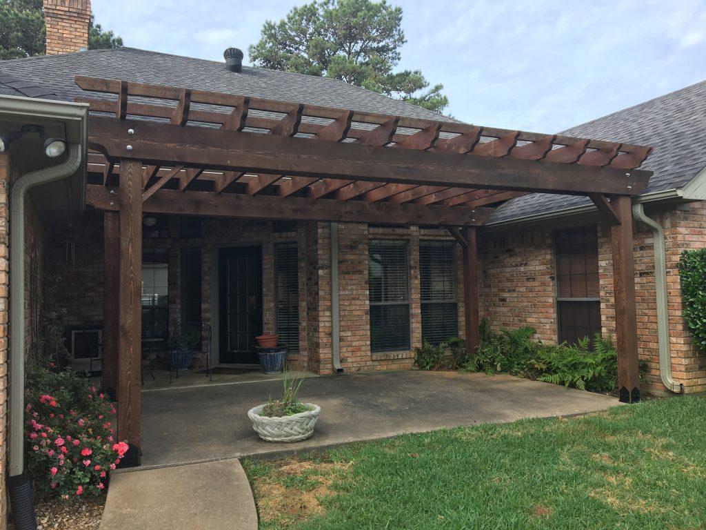 Longview Tx Tyler East Texas Pergola Designs Ideas